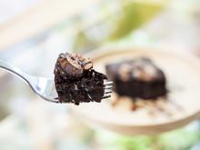 Homemade Dark Chocolate Browni...