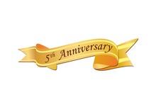 5th Anniversary Logo