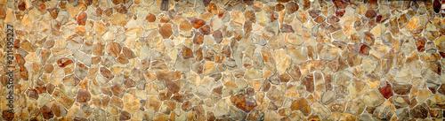 In de dag Stenen Stone wall, panorama, high resolution. Texture