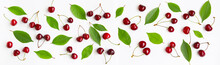 Wide Angle Cherry Background