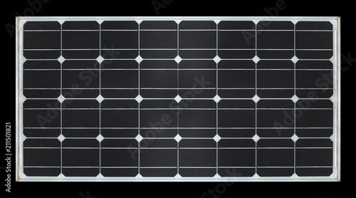 Obraz solar panel on black background - fototapety do salonu