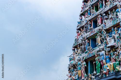 Sri Mariamman Temple Hindu Religion in Singapore China town