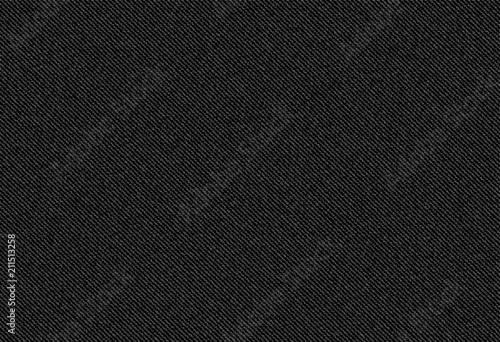 Photo vector background of black jeans denim texture