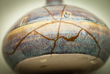 This Is A Piece Of Pottery Tha...