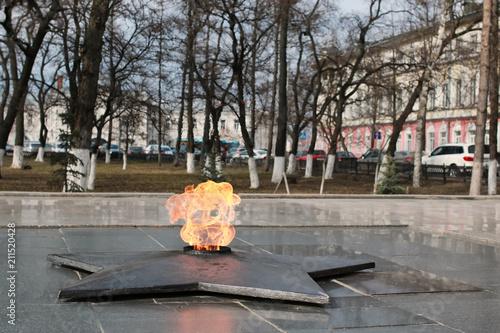 Fotografia  eternal flame monument