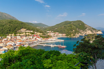 parga island greece summer holidays resort