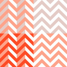 Vector Chevron - Set Of 4 Chev...
