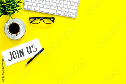 Fotografía  Template for contacts