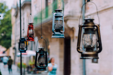 Vintage Gas Lamps Weigh In The...