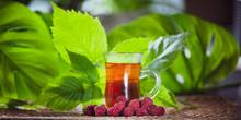 Berry Tea Made From Raspberry,...
