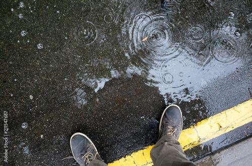 Obraz na płótnie Rainy weather