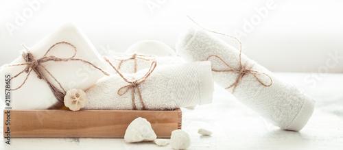 Fotografie, Obraz  Spa still life of soap