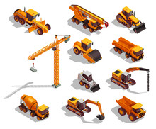 Construction Machinery Isometr...