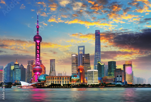 Canvas Prints Asian Famous Place Shanghai, China
