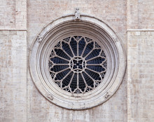 Rose Window Of Trento Cathedral
