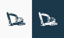 Excavator Logo Designs Templat...