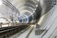 Under Construction Subway Tunn...