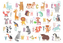 Cute Animals Alphabet For Kids...