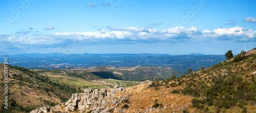 Fototapeta Sardegna, paesaggio nei pressi di Silius, Italy