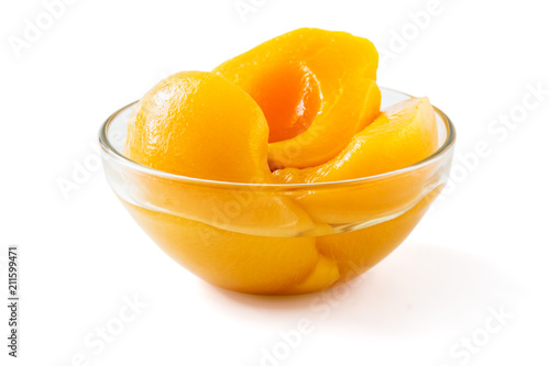 Peach canned