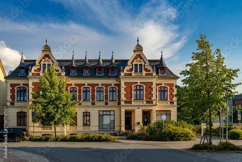 Fotografía  Repräsentative Bürgerarchitektur: denkmalgeschütztes Doppelhaus in Waren/Müritz