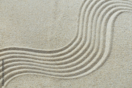 Acrylic Prints Stones in Sand Sand pattern