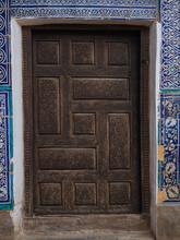 Ornamental Carved Door In Tile...