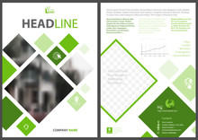 Abstract Flyer Template With S...