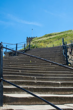 View Up The 199 Steps To Whitb...