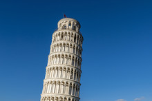 Leaning Tower Of Pisa, Tuscany...