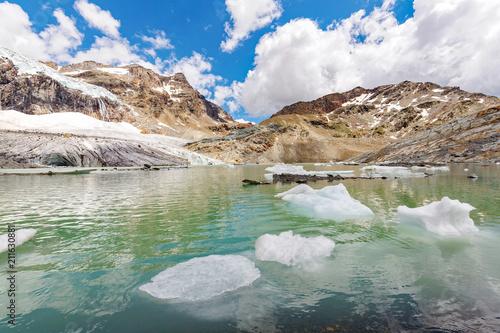 In de dag Gletsjers Alta Valmalenco (IT) - ghiacciaio di Fellaria - luglio 2018