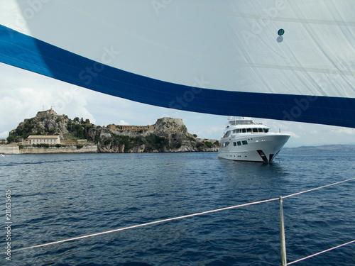 Poster Nautique motorise sailing
