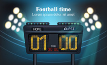 Electronic Board For Football ...
