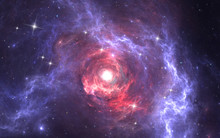 Expanding Giant Star In Deep S...