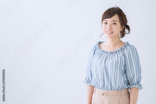 Photographie  笑顔の女性