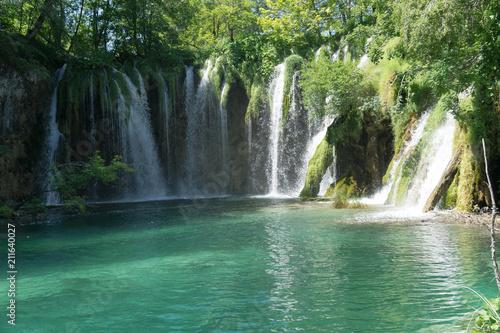Fototapety, obrazy: High waterfall