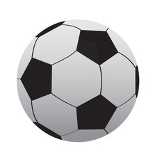 Isolated Soccer Ball Icon