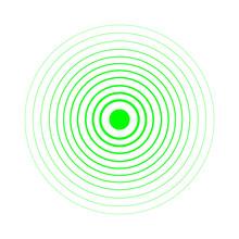 Radar Screen Concentric Circle...