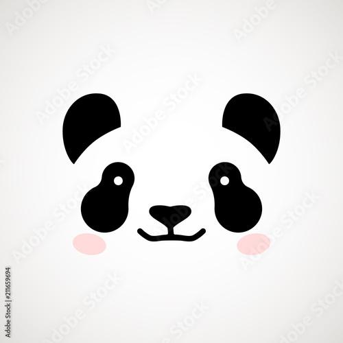 urocza-twarz-pandy-ilustracji-wektorowych-niedzwiedz-panda-szablon-projektu-logo