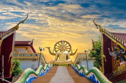 Fotografia  Wat Phra Yai Koh Samui Surat Thani Thailand