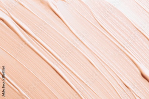 Background made of liquid foundation Fototapet