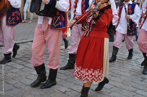 Stroje ludowe - Kraków