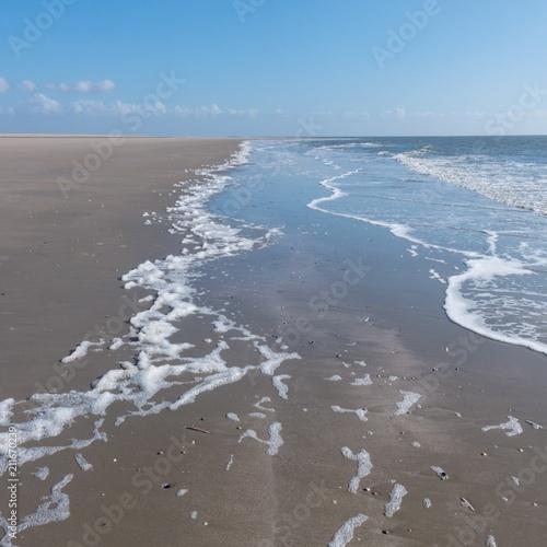 Keuken foto achterwand Noordzee Nordsee, Strand mit endloser Weite, Sonne und Wellen