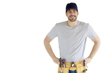 Portrait Of Young Handyman Sta...