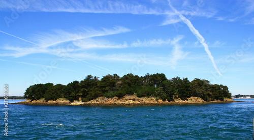 Staande foto Eiland paysage,île dans le golfe du morbihan,bretagne
