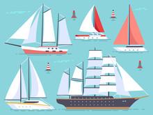 Transportation Sailboats, Yach...