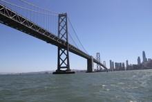 Sailing Under The Bridge, San Francisco