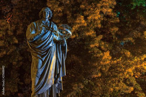 Fototapeta Toruń. Pomnik Mikołaja Kopernika. obraz