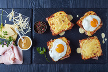 French Toasts Croque Monsieur ...