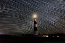 Stars Streak By The Bodie Isla...